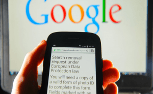 The Right to Be Forgotten Affects BBC and Wikipedia