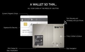 Swyp Unites All the Plastic Cards in One Device