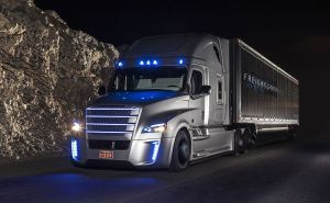 The First Driverless Truck Hits the Road