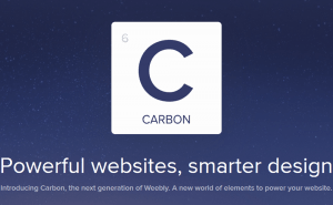 Meet Weebly Carbon, the website building app for your phone
