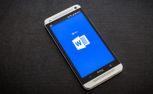 How to open Word files on Android