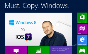 iOS 7: Must. Copy. Windows.