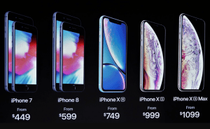 Apple launches three new phones: iPhone XR, XS and XS Max